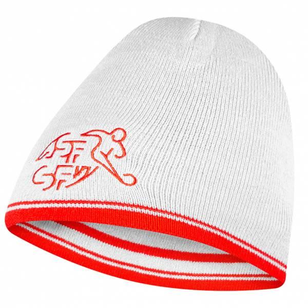 Zwitserland PUMA Prestaties Beanie Tweezijdig te dragen Wintermuts 744376-01