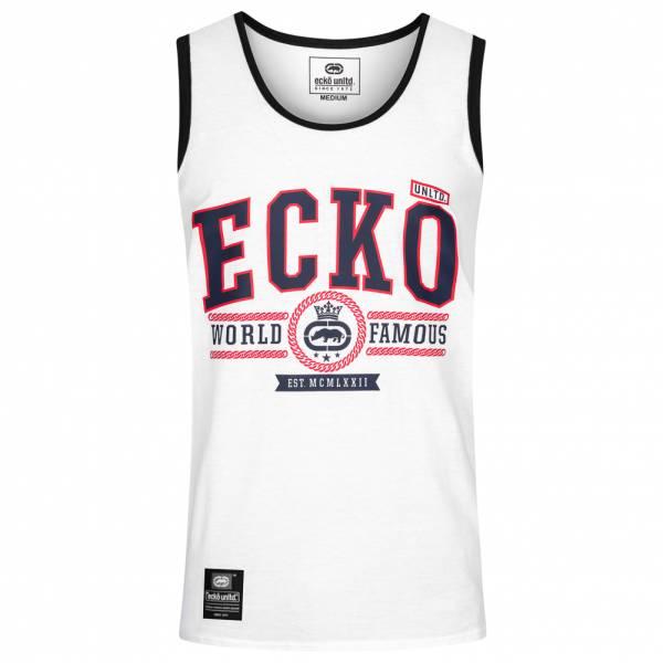 Ecko Unltd. Navigator Heren tanktop shirt ESK4492 Optic White