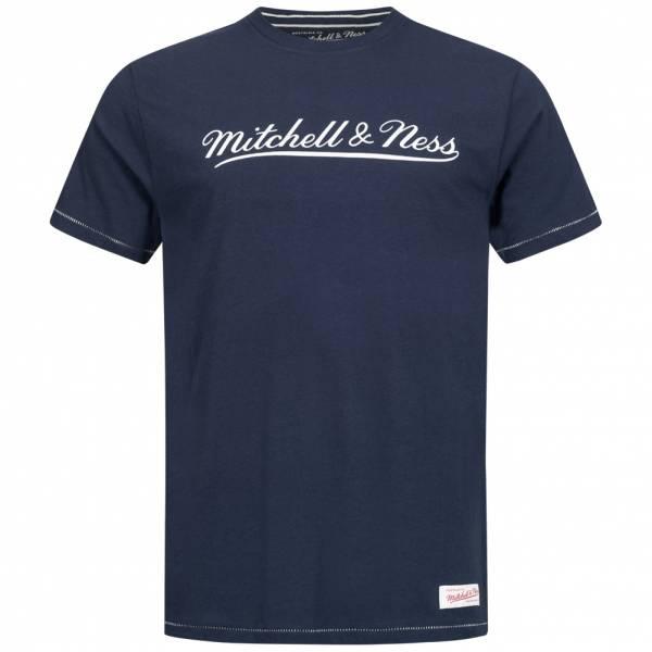 Mitchell & Ness Tailored Heren T-shirt TAILTEE-NVY