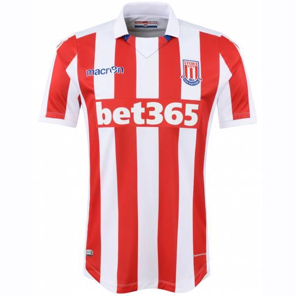 Stoke City FC macron thuisshirt voor heren 58077090